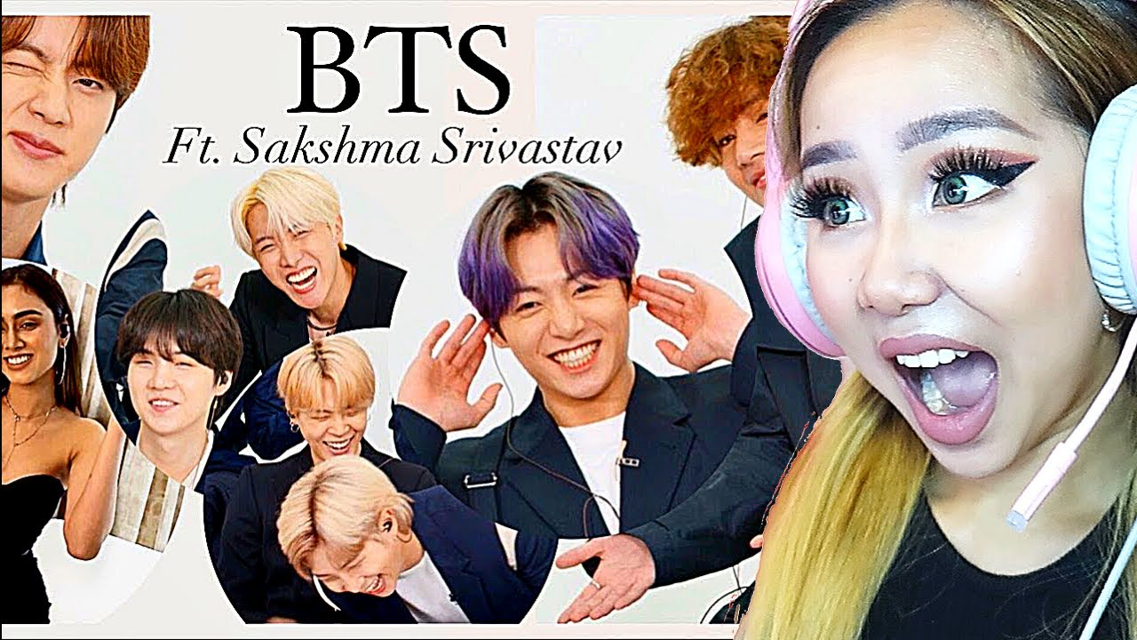 THEY'RE BLUSHING! 😍 'BTS INDIAN INTERVIEW' ft. Sakshma Srivatav [E NOW] | REACTION/REVIEW