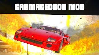 CARMAGEDDON MOD (Car Mayhem Mode, Huge Crashes)   GTA 5 Mods