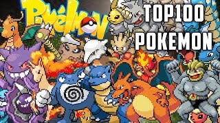 TOP 100 POKEMON CHALLENGE