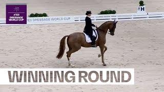 Isabell Werth & Bella Rose wow the home crowd in Stuttgart - Winning Round | FEI Dressage World Cup™
