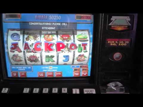 ATRONIC CASHLINE CRAZY FRUITS Jackpot