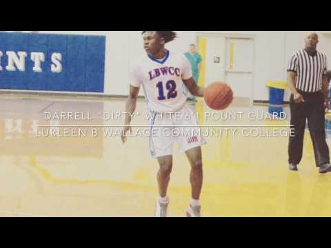Darrell White TOP RECRUITED Point Guard Lurleen B Wallace Community College