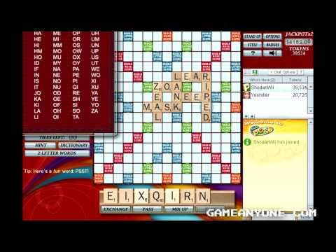 Scrabble - Pogo Games - Co-op With Yoshiller [3]