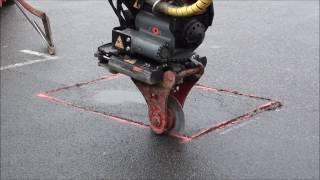 Lagning av asfalt