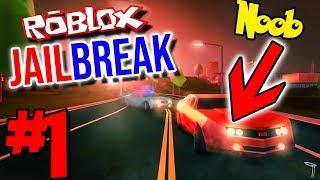 NOOB'S PREMIER JAILBREAK! COMMENT dois-je ESCAPE?!? | Roblox: Jailbreak - Épisode 1