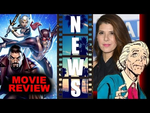 Justice League Gods & Monsters Movie Review, Marisa Tomei as Aunt May?! - Beyond The Trailer