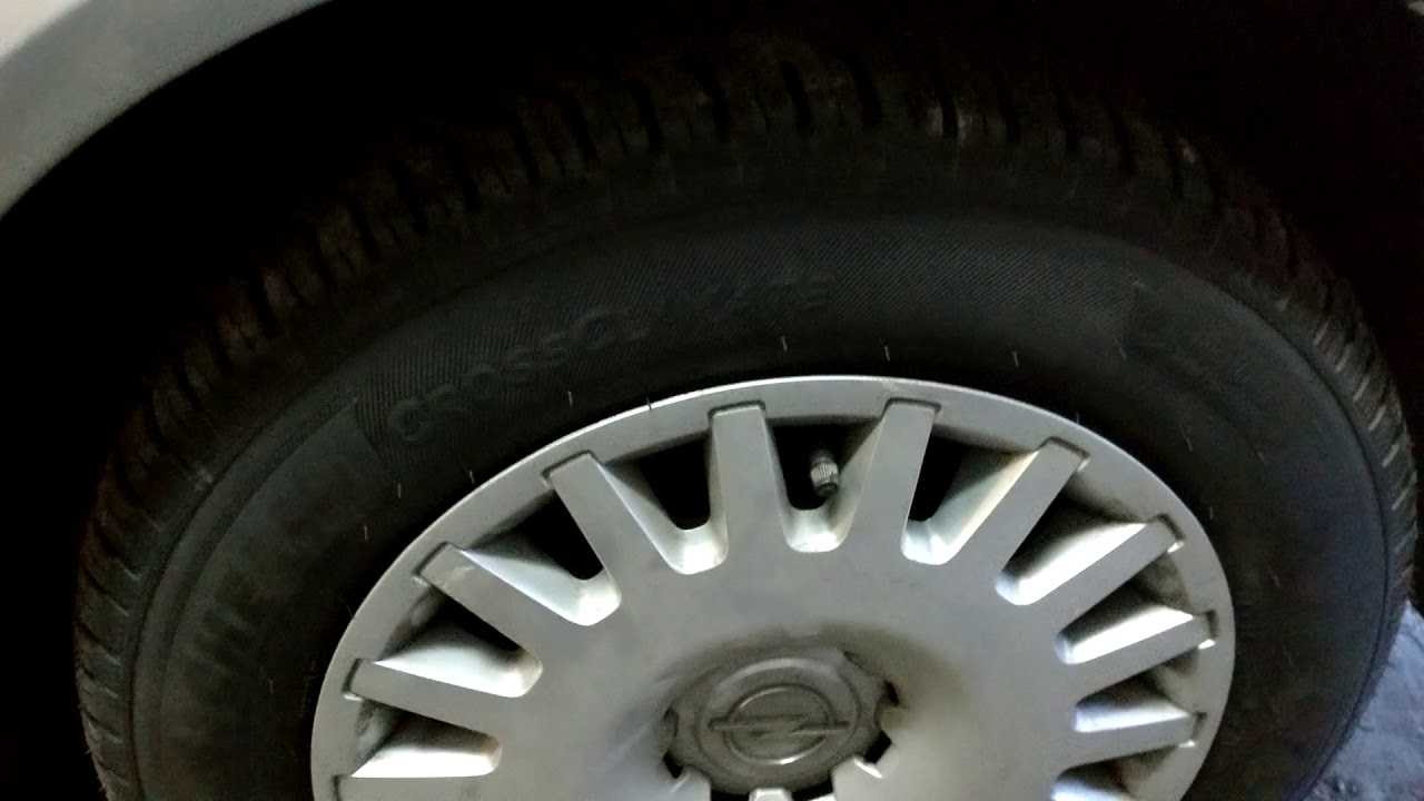 Całoroczne Opony Michelin I Bridgestone Po Dniu Eksploatacji Youtube