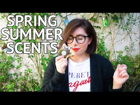 SPRING SUMMER SCENTS YOU NEED & PERFUME GIVEAWAY!