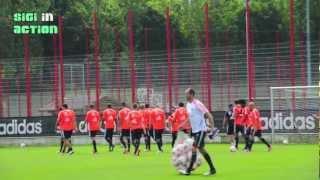 Impressionen vom FC Bayern München Training am 28.07.2012