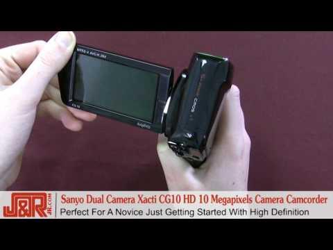 Review - Sanyo Dual Camera Xacti CG10 HD 10MP Camcorder - JR.com