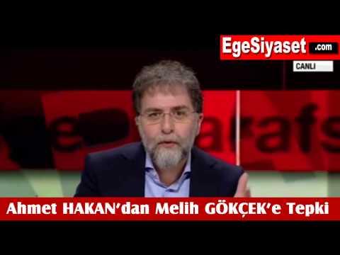 Ahmet Hakan'dan Melih Gökçek'e Tepki
