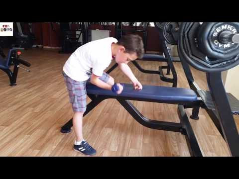 Fitness For Kids | Fitness Center | Kids fitness video. Health and fitness