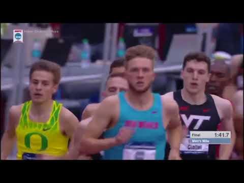 2018 NCAA Indoor Track Championships Men's Mile
