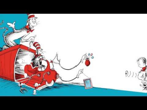 Dr. Seuss :: Bir Balık İki Balık Kırmızı Balık Mavi Balık, Yeşil Yumurta Ve Salata, Şapkalı Kedi