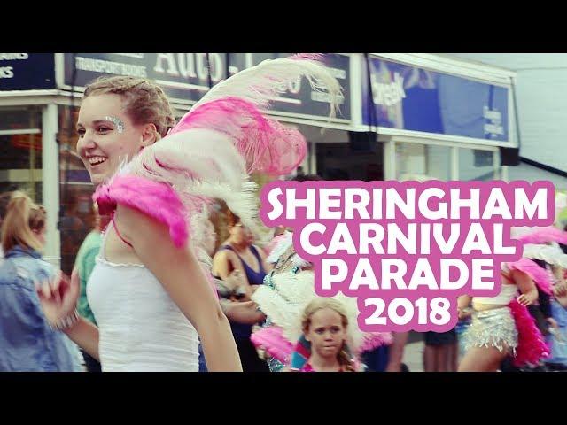 Sheringham Carnival Parade 2018