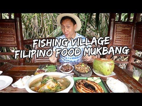 Eating Filipino Food at a Fishing Village in Dagupan, Pangasinan   Vlog #601