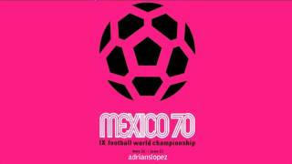The World At Their Feet - John Shakespeare Orchestra (México FIFA World Cup 1970)