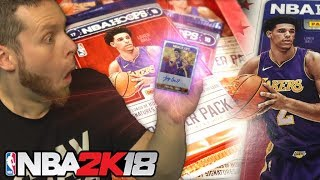 IRL Pack Opening! ROOKIE LONZO BALL! NBA 2K18