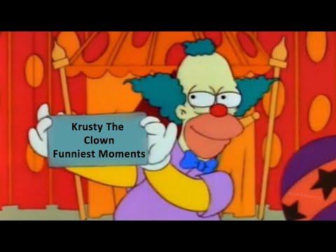 Krusty The Clown: Best Bits | Funniest Moments