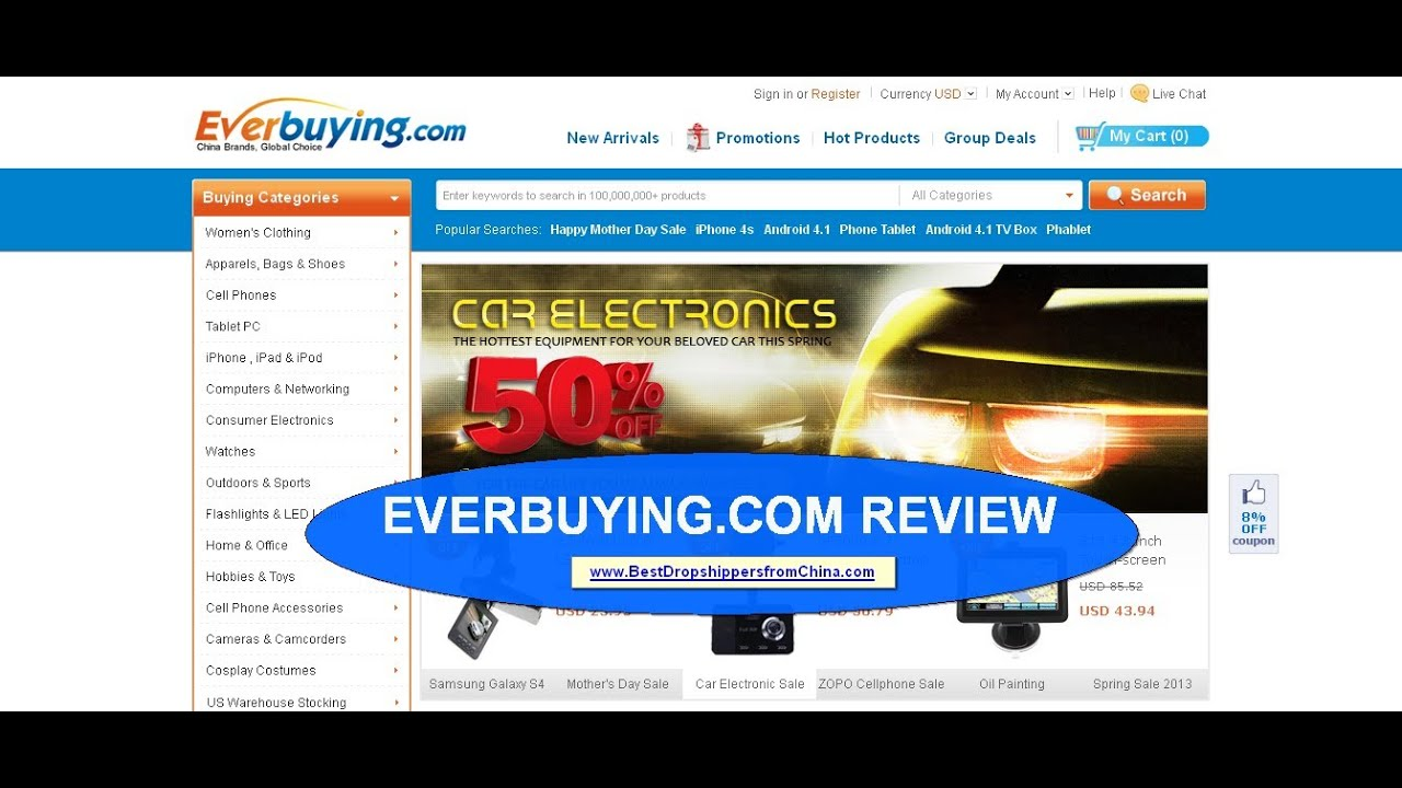 everbuying is closing