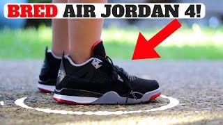 THE ONLY AIR JORDAN 4 BRED UNBOXING YOU NEED TO SEE