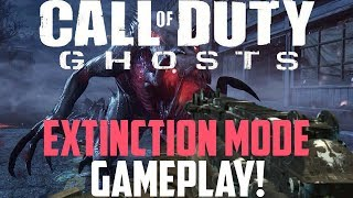"""*NEW* Call of Duty Ghosts: """"Extinction"""" Mode GAMEPLAY! Full Alien Mode (COD Ghosts Gameplay)"""