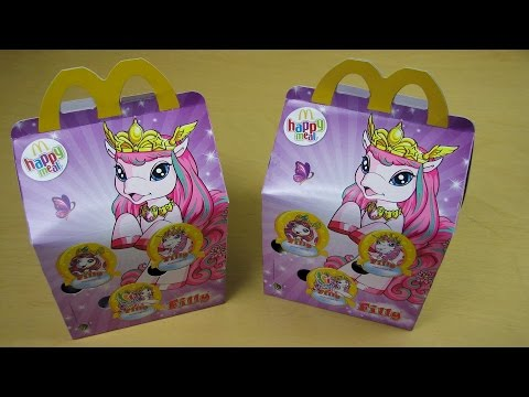 Happy Meal with Pink Ponys [Filly Butterflies]
