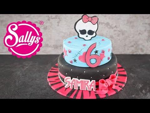 Monster High Geburtstagstorte für Samira / Birthday Cake / Sallys Welt