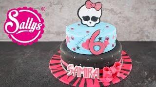 Monster High Geburtstagstorte für Samira / Birthday Cake