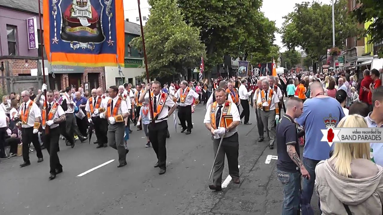 Full Parade - Belfast 12th of July Parade, Dublin Road - YouTube