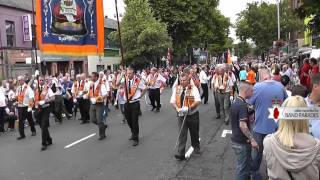 Full Parade - Belfast 12th of July Parade, Dublin Road