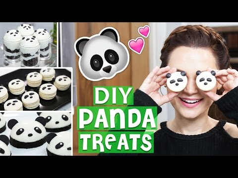 Make DIY PANDA TREATS! Snapshots