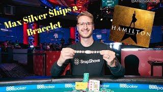 Max Silver Ships a Bracelet