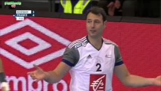 Norvège VS France Handball Golden League 2015 2016 1re manche