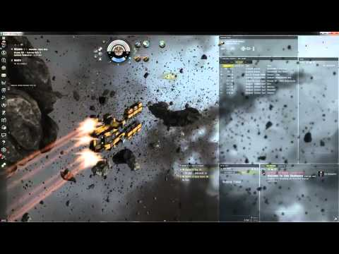 EVE Online   New Asteroid Belt Visual Effects
