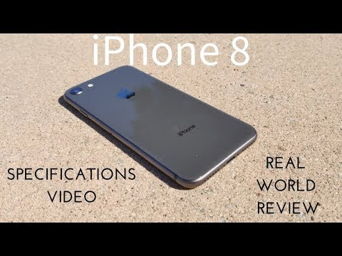 IPhone 8 Specs Video (Real World Review)