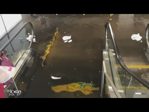 Water main break floods baggage claim area at JFK Airport in New York