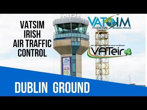 [VATSIM ATC] Dublin Ground [EIDW] Live Stream 06/10/2017