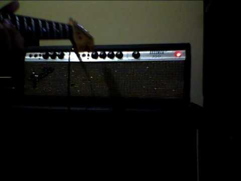 SOV Test-Vintage Fender Bassman 100 Head