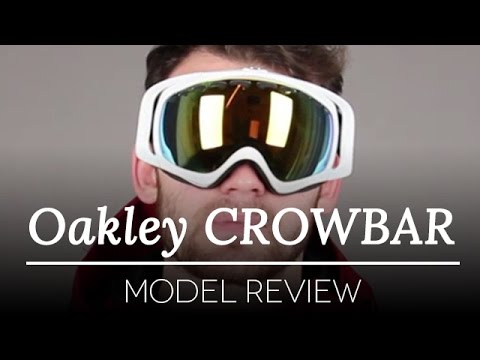 oakley ski goggles crowbar  Oakley Goggles Review \u2013 Oakley CROWBAR OO7005 Ski Goggles. - YouTube