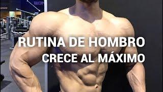 RUTINA DE HOMBRO MAS GRANDE Y REDONDOS I Ismael Martinez