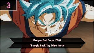 My Top Dragon Ball Openings & Endings