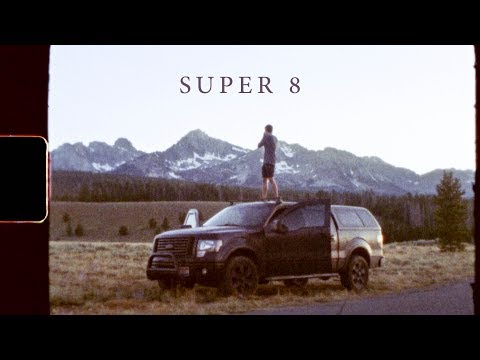SUPER 8 - ADVENTURE IN THE SAWTOOTHS [8mm Film]