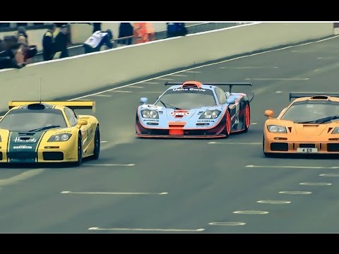 McLaren F1 GTRs gather at Goodwood