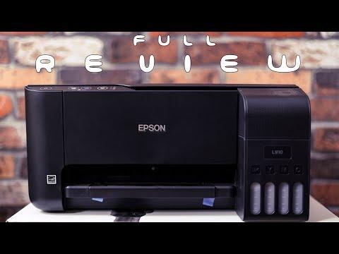 சிறந்த Budget Printer For Home Use and School Students? - Epson L3110 Full Review in Tamil!