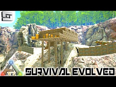 ARK: Survival Evolved - BASE BUILDING AND IRRIGATION! E25 (
