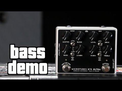 Darkglass B7K Ultra Bass Demo