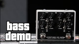 Darkglass B7K Ultra Bass Demo
