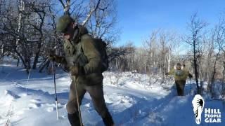 in the field: XC Ski Tour