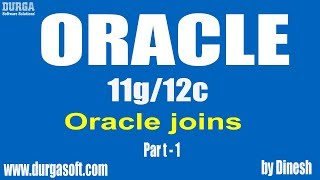 Oracle   joins Part -1 by dinesh